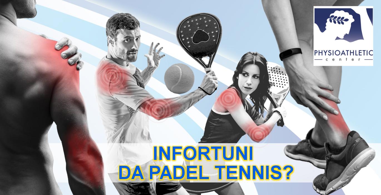 infortuni da padel tennis